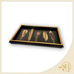 Gold Feather Tepsi